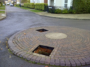 Man Hole Cover Theft - Dettingen Park