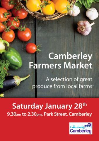 Camberley Farmers Market - 28/01/12